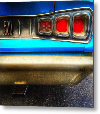Coronet 500 Rear Metal Print by Jame Hayes