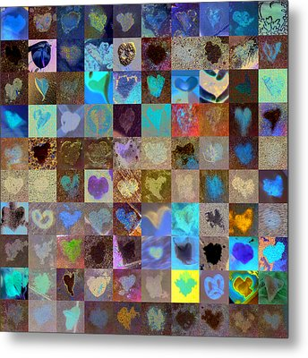 Eight Hundred Series Metal Print by Boy Sees Hearts