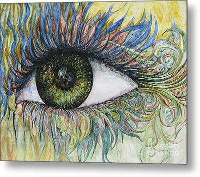Eye For Details Metal Print