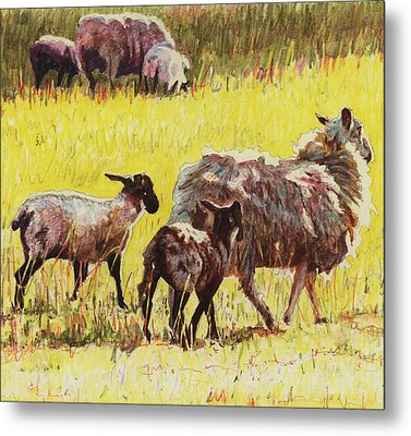 Following Metal Print by Helen White
