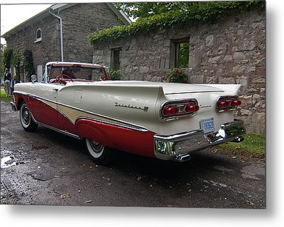 Ford Fairlane  Metal Print by Guy Whiteley