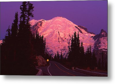 Highway To Sunrise Metal Print by Ansel Price