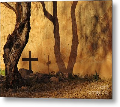 Shadow Of The Past Metal Print by Feva Fotos