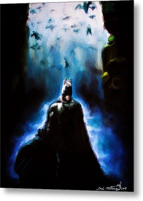 Into The Cave Metal Print by Darryl Matthews