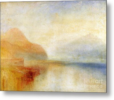 Inverary Pier - Loch Fyne - Morning Metal Print by Joseph Mallord William Turner
