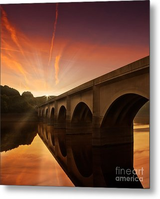 Peaceful Valley Metal Print by Nigel Hatton