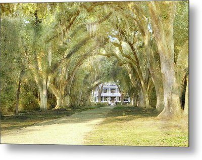 Rosedown Plantation Metal Print by John Hix