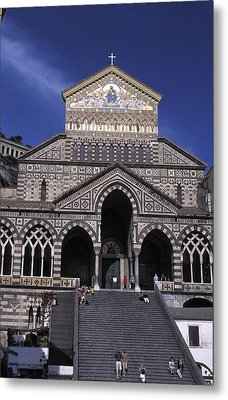Saint Andrea In Amalfi, Italy Metal Print by Richard Nowitz