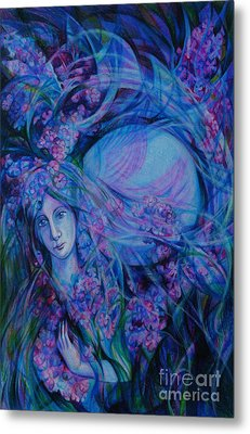 Song Of Lilac Metal Print