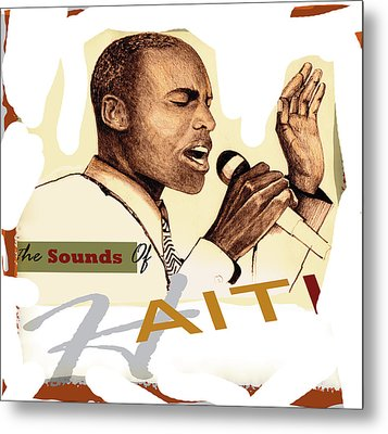 Sounds Of Haiti Poster Metal Print by Bob Salo