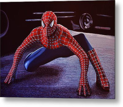 Spiderman 2  Metal Print by Paul Meijering