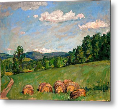 Summer Idyll Berkshires Metal Print by Thor Wickstrom