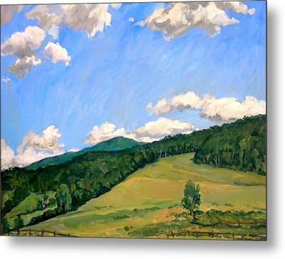 Summer Shapes Berkshires Metal Print by Thor Wickstrom