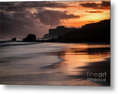 Sunrise At Sandhaven Metal Print by Ray Pritchard