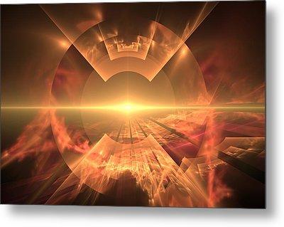 Supernova  Metal Print by Svetlana Nikolova