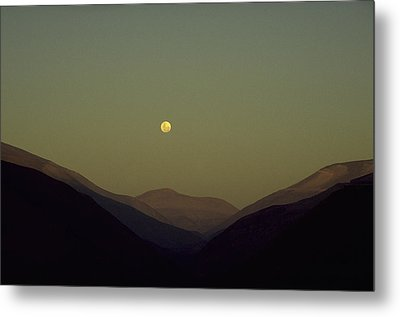The Andes Mood Metal Print by Michael Mogensen