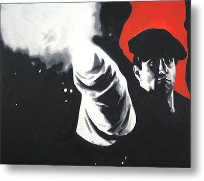 - The Godfather - Metal Print
