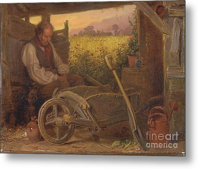 The Old Gardener Metal Print