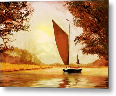The Wherry Albion Metal Print by Valerie Anne Kelly