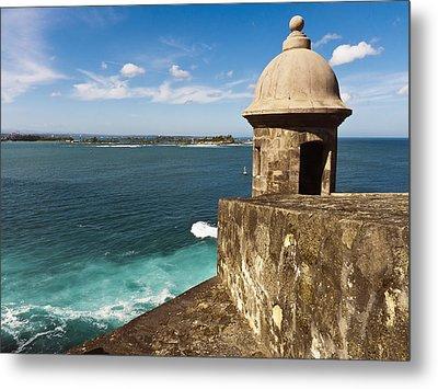 View From El Morro Fort Metal Print by George Oze