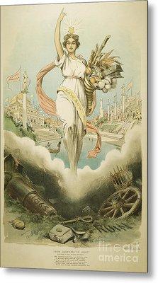Atlanta Exposition, 1895 Metal Print by Granger