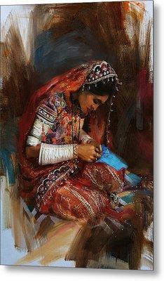 001 Sindh Metal Print by Mahnoor Shah
