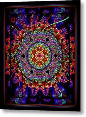 003 - Mandala Metal Print