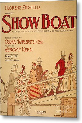 Show Boat Poster, 1927 Metal Print by Granger