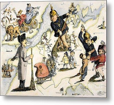 Europe: 1848 Uprisings Metal Print by Granger