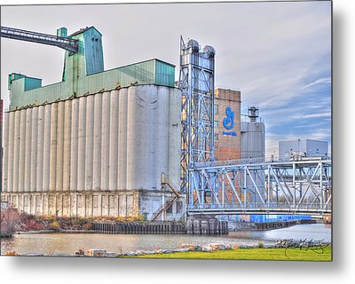 01 General Mills Metal Print by Michael Frank Jr