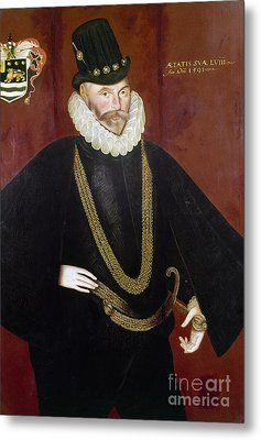 Sir John Hawkins Metal Print by Granger