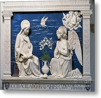 Della Robbia: Annunciation Metal Print by Granger