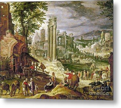 Roman Forum, 16th Century Metal Print by Granger