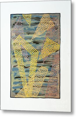 01333 Left Metal Print by AnneKarin Glass
