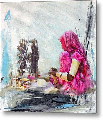 024 Sindh Metal Print by Maryam Mughal