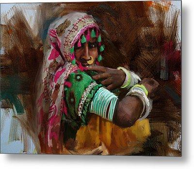 029 Sindh Metal Print by Maryam Mughal