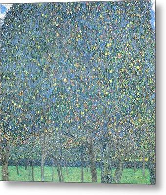 Pear Tree Metal Print by Gustav Klimt