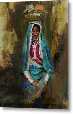 030 Sindh Metal Print by Maryam Mughal