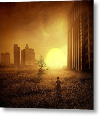 05.05 Pm Metal Print by Andre Arment