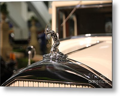 07 San Francisco International Auto Show 2009 Metal Print by Wingsdomain Art and Photography