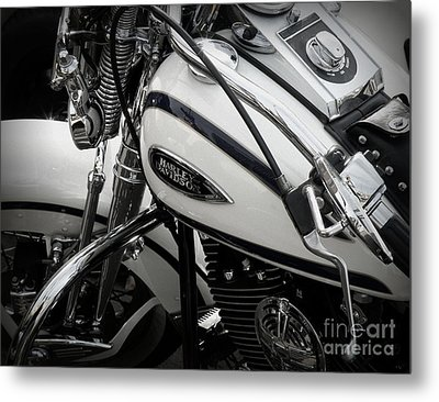 1 - Harley Davidson Series  Metal Print by Lainie Wrightson