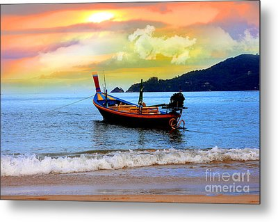 Thailand Metal Print by Mark Ashkenazi