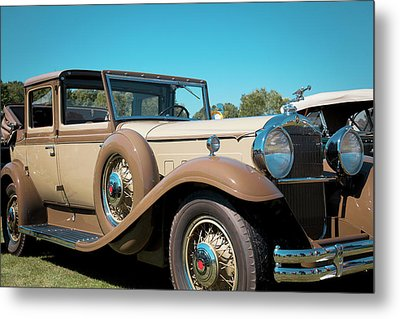1931 Packard Deluxe Eight Metal Print by Jack R Perry