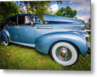 1941 Packard 120 Convertable Sedan Metal Print by Jack R Perry