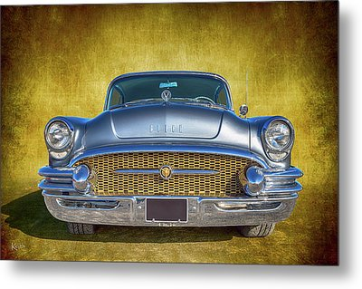 1955 Buick Metal Print by Keith Hawley