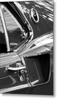 1969 Ford Mustang Mach 1 Side Scoop Metal Print by Jill Reger