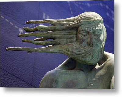 A Blustery Day Metal Print by Jez C Self