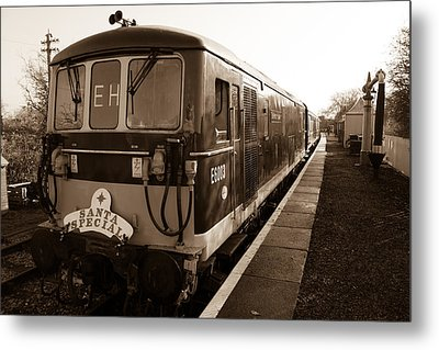 A Diesel Engine At Swindon And Cricklade Railway Metal Print