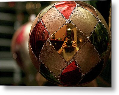 Metal Print featuring the photograph A Photographer's Christmas Greeting by Trish Mistric
