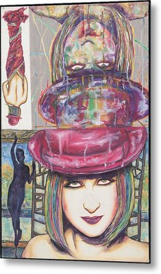 A True Color Metal Print by Joseph Lawrence Vasile